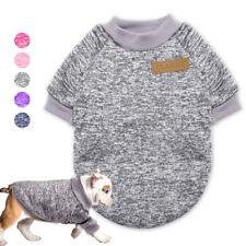 Hundepullover Fleece Pullover für Kleine Hunde und Katzen Welpe Hundemantel Mops