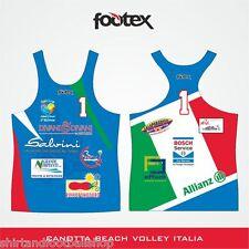 FOOTEX Canotta Beach Volley Made in Italy Sconti per Squadre o Società ITALIA