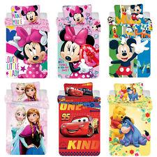 Disney Minnie Mickey Mouse Cars Winnie the Pooh Frozen Babybettwäsche 100x135 cm