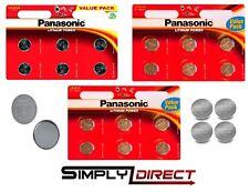Panasonic Coin Batteries CR2025 CR2016 CR2032 LITHIUM POWER DL2032 - EXP 2027
