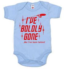 """Star Trek Body """"he ido audazmente como he estado antes"""" Divertida Ropa para Bebé"""