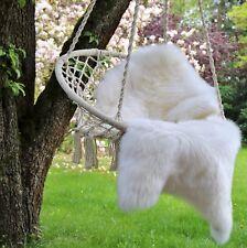 PEAU DE MOUTON / D'agneau éco fourrure blanc Nature Tapis décoration naturel
