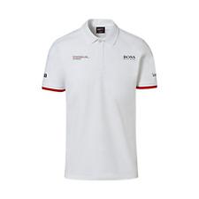 Porsche Driver's Selection Men's Polo Hugo Boss (White)- Motorsport Collection
