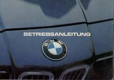 BMW E23 Betriebsanleitung 1981 Bedienungsanleitung 7er SH 728i 735i 732i 745i BA