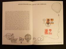 FRANCE MUSEE POSTAL FDC 10-83   L AIR ET L ESPACE    2+3F   LE BOURGET   1983