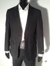 HUGO BOSS Men's Suit Dark Grey Italy 100% Genuine Size US40-EU50 Wool