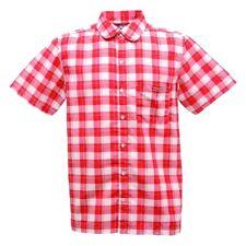Regatta Breckenridge Shirt Lightweight Soft Summer Outdoor Work Quick Dry Pepper