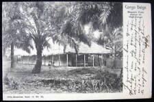 1903 CONGO BELGE~Magasin d'une station du Haut-Congo