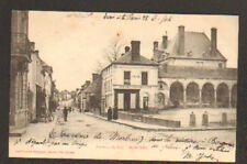 MORTREE (61) EPICERIE-MERCERIE-Café , animé avant 1904