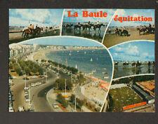 LA BAULE (44) CENTRE EQUESTRE & EQUITATION sur PLAGE en 1984