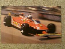 1981 Ferrari 312T-5 Formula 1 Race Car Print Picture Poster RARE!! Awesome L@@K