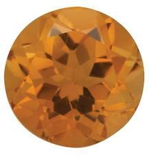 Natural Fine Orange Gold Citrine - Round - Brazil - Top Grade