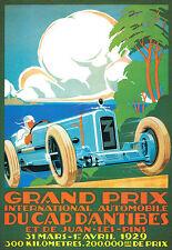 Art Poster - Grand Prix International Automobile - 1929 Deco  A3 Print