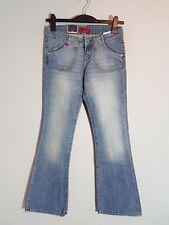 """CROSS Damen Hüft-Jeans """"H-435-005""""  Bootcut  W26-W29  blau  NEU mit Etikett"""