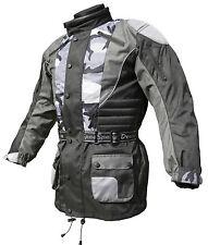 Baby Biker Kids Childs Childrens Motorcycle Motorbike Cool Textile Jacket Camo T