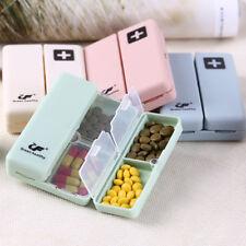 7Day Pill Storage Magnet Box Medicine Container Holder Dispenser Case 2Y