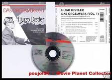 """DISTLER """"Das Orgelwerk"""" vol.1 (CD) A.Schoof 1995"""