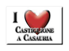 CALAMITA ABRUZZO FRIDGE MAGNETE SOUVENIR I LOVE CASTIGLIONE A CASAURIA (PE)--