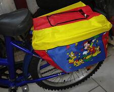 nuevo Disney Mickey mouse Impermeable de bicicleta bolsa transpirable
