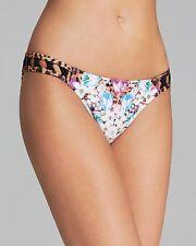 c44c9b5381 MINKPINK Multicolor Animal Fleur Criss Cross Bikini Bottom K-76