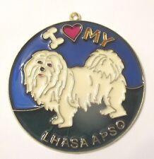 I LOVE MY LHASA APSO SUNCATCHER (DOG SUNCATCHERS)