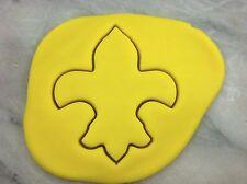 Fleur De Lis Cookie Cutter CHOOSE YOUR OWN SIZE! Saint Bishop