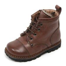 C1322 scarponcino bimbo MOMINO ALFA scarpa anfibio marrone boot shoe kid