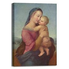 Raffaello Madonna 2 design quadro stampa tela dipinto telaio arredo casa