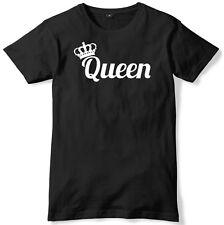 Reine couronne et homme drôle unisexe t-shirt