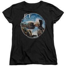 E.T. The Extra-Terrestrial Sci-Fi Film Gertie Kisses Women's T-Shirt Tee