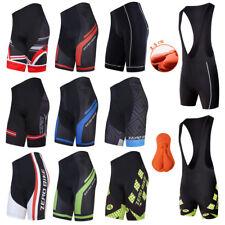 Herren Radfahren Radhose Fahrrad Hose Atmungsaktiv Radlerhose Cycling Shorts