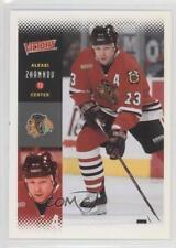2000-01 Upper Deck Victory #56 Alexei Zhamnov Chicago Blackhawks Hockey Card