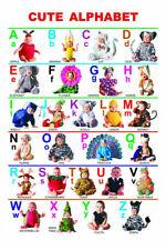 157485 mon ABC Alphabet Apprendre Tableau Mural imprimé Poster UK