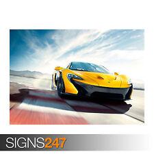 McLaren P1 (0198) cartel de auto-foto imagen arte cartel impresión A0 A1 A2 A3 A4