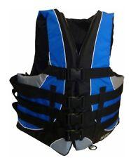 Wasserskiweste blau/grau Rettungsweste Schwimmweste Wasserski