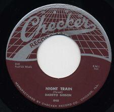 DADDYO GIBSON Night Train/Behind The Sun R&B SOUL 45