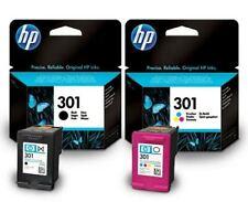 HP301 Tricolor Y Negro Original Hp Cartuchos de tinta de impresora