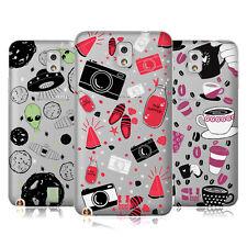 Funda HEAD CASE DESIGNS DE patrones dibujado a mano Estuche De Gel Suave Para Teléfonos Samsung 2