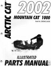 2002 ARCTIC CAT MOUNTAIN CAT 1000  PARTS MANUAL