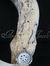 Original Sterlina mi Milano necklace/pendant Cristal star/jade coin/moneda ajmm