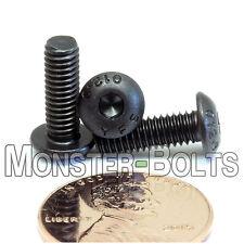 M4 - BUTTON HEAD Socket Cap Screws 12.9 Alloy Steel w Black Oxide ISO 7380 (4mm)
