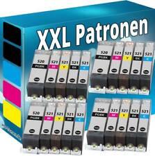 Alternativ Canon Druckerpatronen PGI-520 - CLI-521 Pixma MP 540 MP 560 MP 630