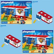 * Playmobil Cirque remorque 4232 7468 * Spares Parts * Max UK p&p £ 1.99 par commande