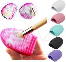 Limpiador de pinceles de maquillaje Guante De Huevo Silicona Limpieza de cosméticos de Fundación lavador