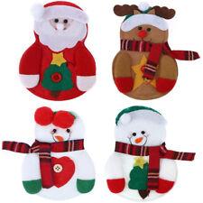 Bestecktasche Besteckbeutel Besteckhalter Serviettentasche Weihnachten Deko Xmas