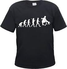 SKATER evolución de la camiseta - Diferentes Colores IMPRESOS - Skate BOARDER