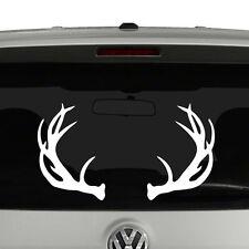 Deer Antlers Hunters Rack Vinyl Decal Sticker