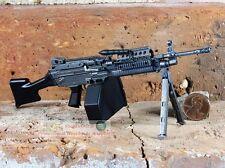 MK46 Mod 0 1:6 Figure Rifle Stock Military M249 Light Machine Gun Model MK46_C