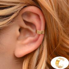Mens Womens Fake Clip-on Earring Cartilage Ear Cuff Punk Rock Ear Clip Cuff Wrap