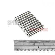 Tiny 3x4 mm Neodymium Rod Magnets small round craft fridge magnet 3mm dia x 4mm